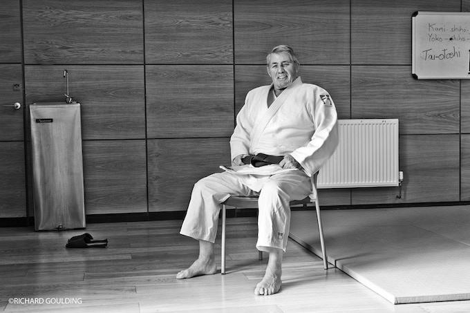 OLD SCHOOL: George Kerr, 10th Dan Judoka, university friend of Hosaka, photographed Edinburgh 2010.