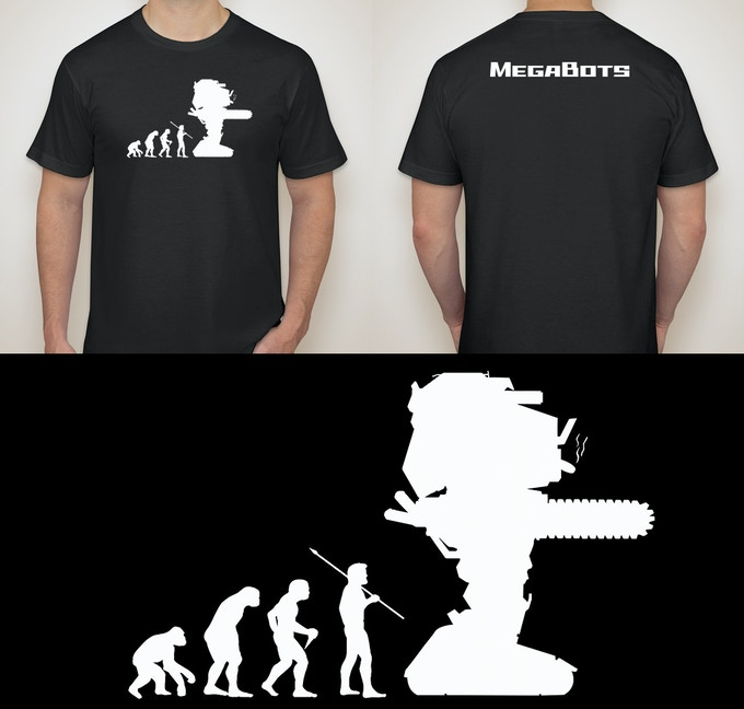 Our Evolution of Man shirt