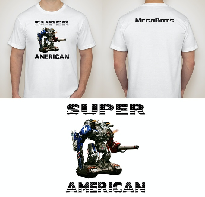 Our SUPER AMERICAN shirt
