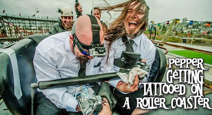 Real life crazy stunts!