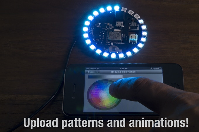 Easily create light patterns and animations to your heart's content!