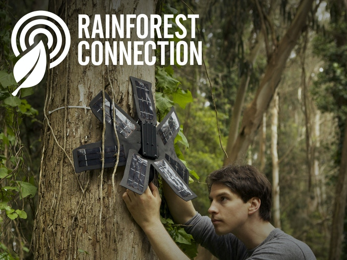 Technology to stop illegal logging and poaching on-the-spot. It's our answer to climate change & mass extinctions.