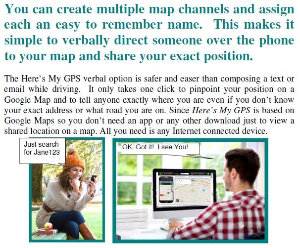 No one has to install the app or download anything for you to share your location. Any Internet connected device can display a HMGPS map. You only need the app to join a map. If you can view your location on Google Maps you can share it with HMGPS