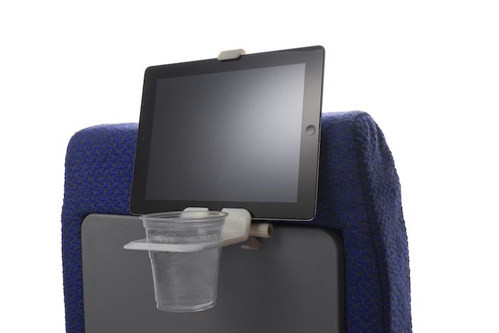 Legroom-Saving Airline Travel Accessory That Holds Your Beverage &  Electronics Device - Say Goodbye To Your Tray Table!