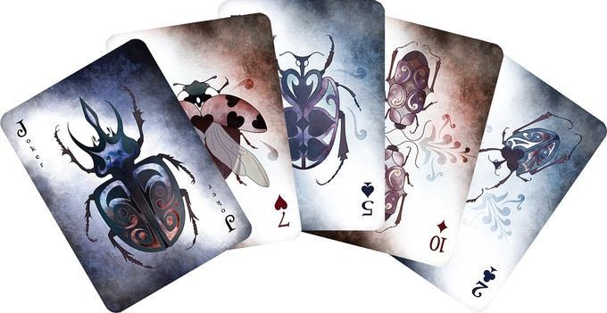 A sample spread: Dark Deck