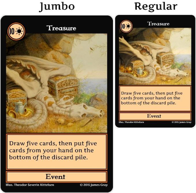 Jumbo cards (prototype)