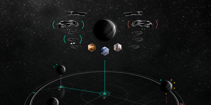 Forces gather around a planet for a fight!