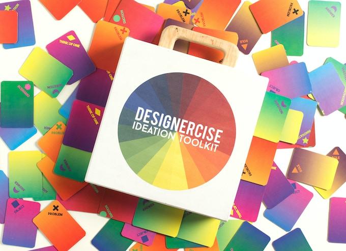 Designercise Ideation Toolkit facilitates creative & flexible thinking