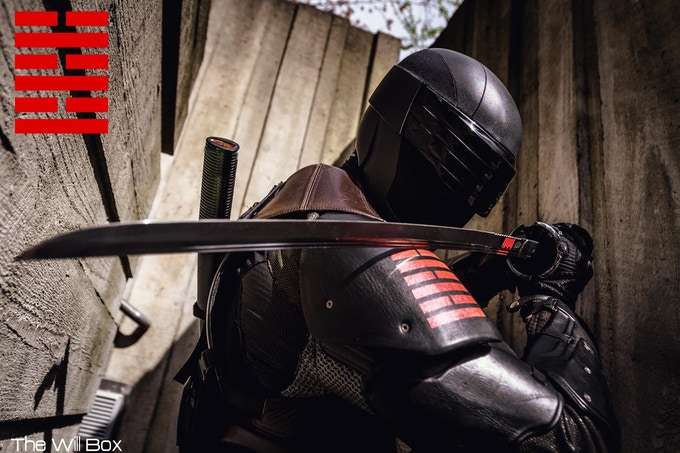 Danquish as Snake Eyes, Photography: The Will Box