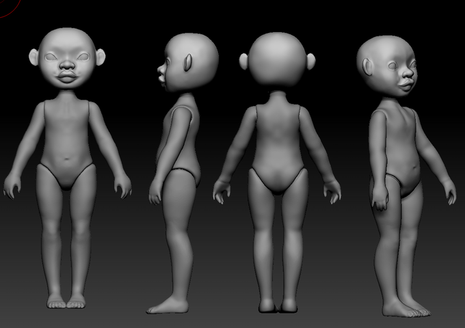 3D Model Turnarounds