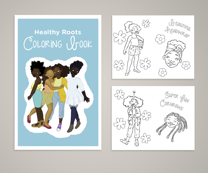 Healthy Roots E-Coloring Book