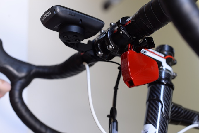 PowerPod paired with Garmin 810
