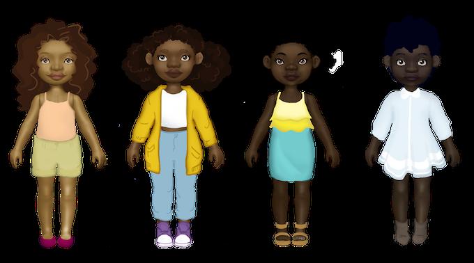 3D Doll models