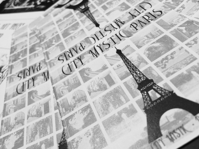 City Mystic • Paris card backing