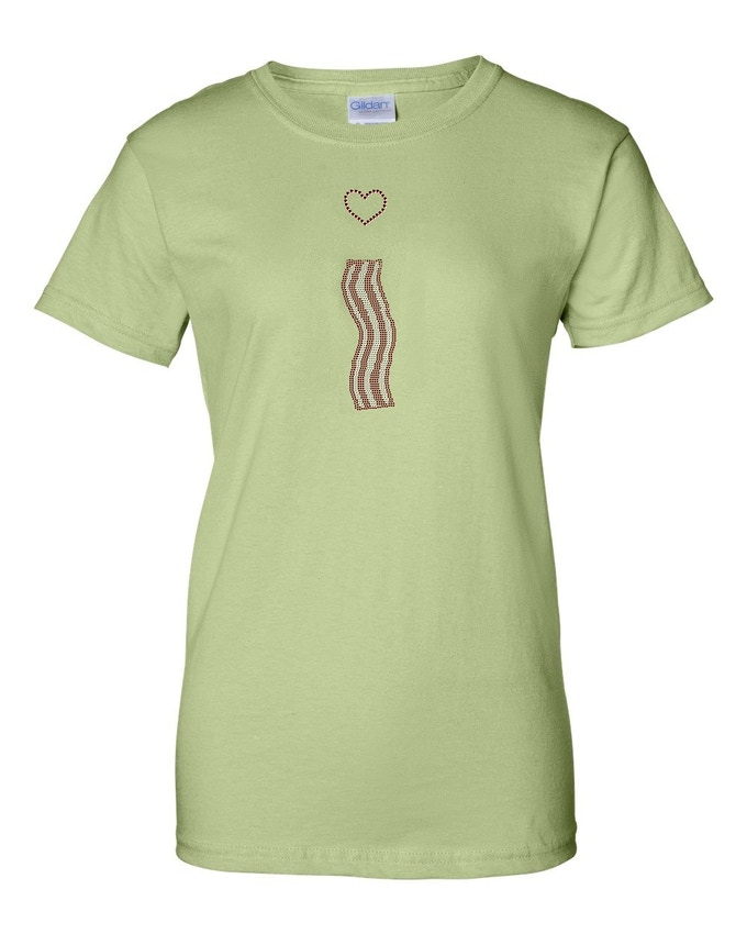 1d7a151c00427 BACON BLING! Tasty t-shirts by Emily Earley — Kickstarter