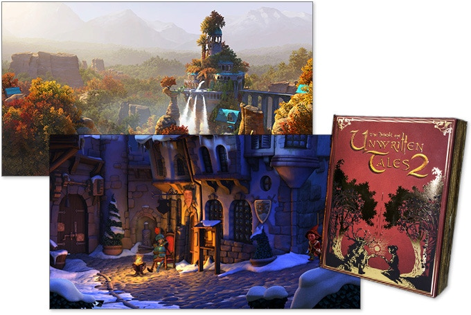 """The Book of Unwritten Tales 2"" - a classic point-and-click adventure; Release 2015"