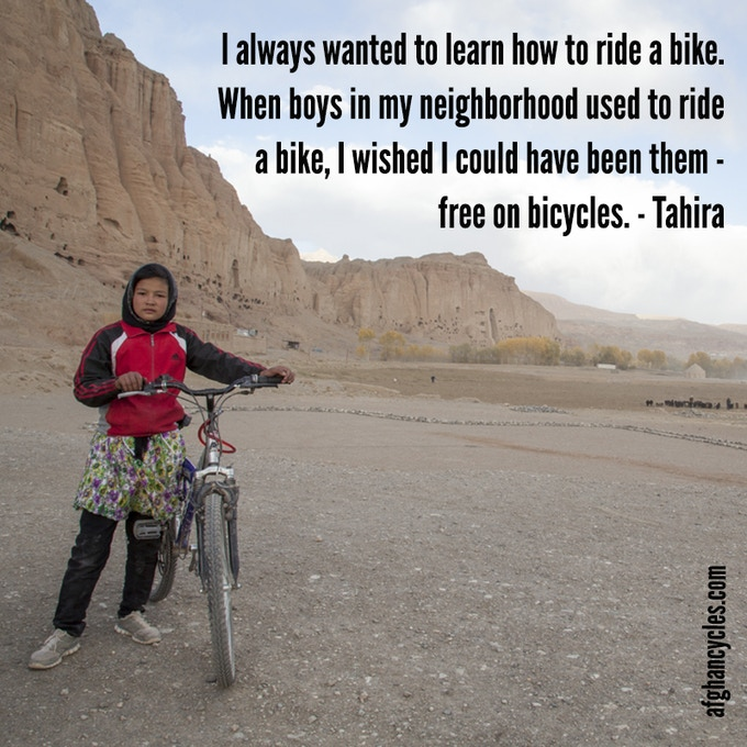 Tahira, a girl with a mission