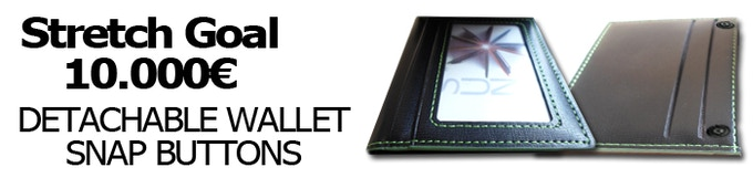 """4 credit card slots + ID Pocket - or - 3 Credit card slots + Wide coin pocket (""""Pimp"""" option) + ID pocket - Not available with the """"SLIM"""" version"""