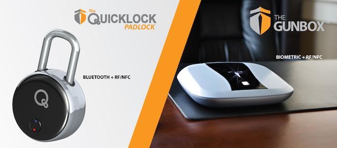 The Quicklock- World's 1st Bluetooth + RF Auto Lock Doorlock