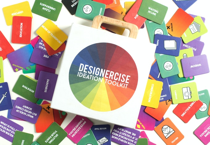 A Creative Thinking Game and Ideation Toolkit for Professional Play