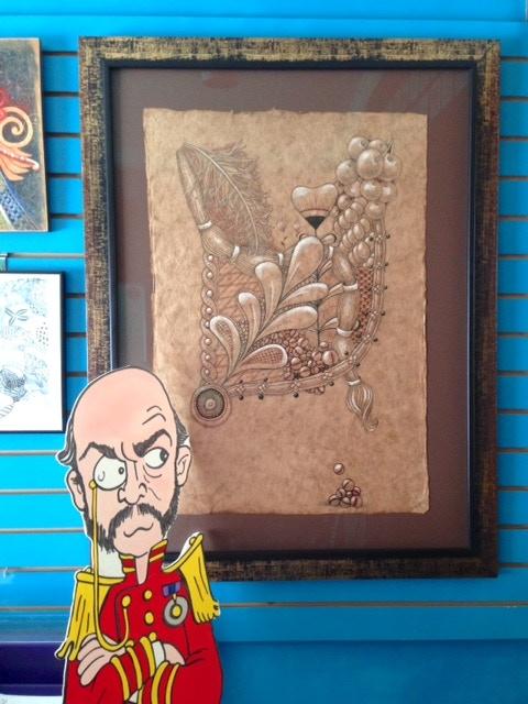 Huge, beautiful original piece of my artwork!