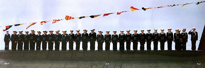 The crew of the Russian K-141 Kursk Nuclear Submarine