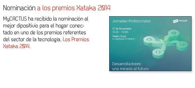 XATAKA Nominated for Award