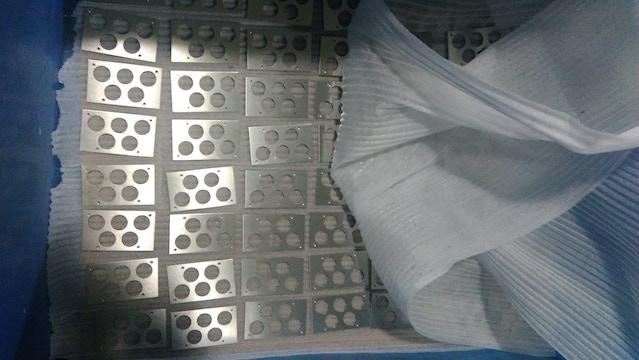 Control Pod Frontplate CNC machining