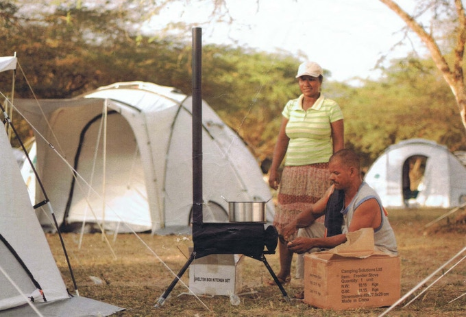 Our original Frontier Stove in Haiti - Frontier Plus ˆ� A Next-generation Portable Woodburning Stove By
