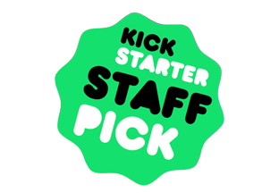 "Kickstarter featured as a ""Staff Pick"""