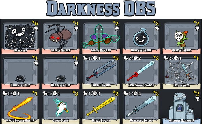 100 Swords by Laboratory » Commenter Cards! / Surveys