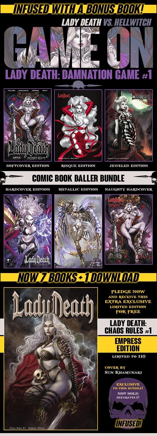 COMIC BOOK BALLER BUNDLE ($250 PLEDGE)