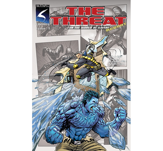 The Threat Issue 1 Reboot Cover