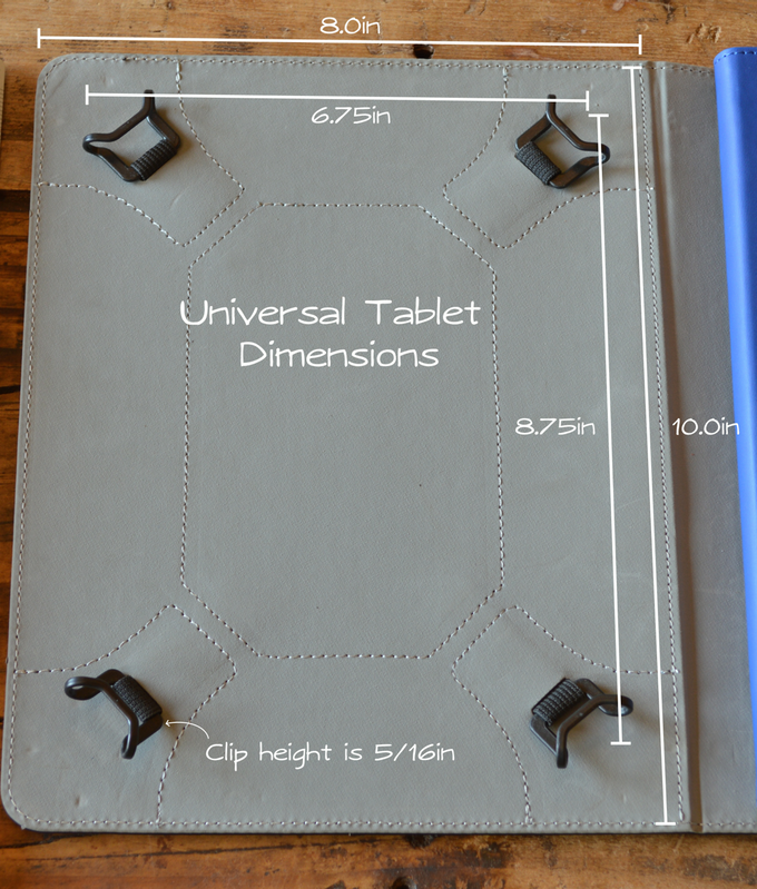 Left side of Design Folio holds a range of tablet and sketchpads.
