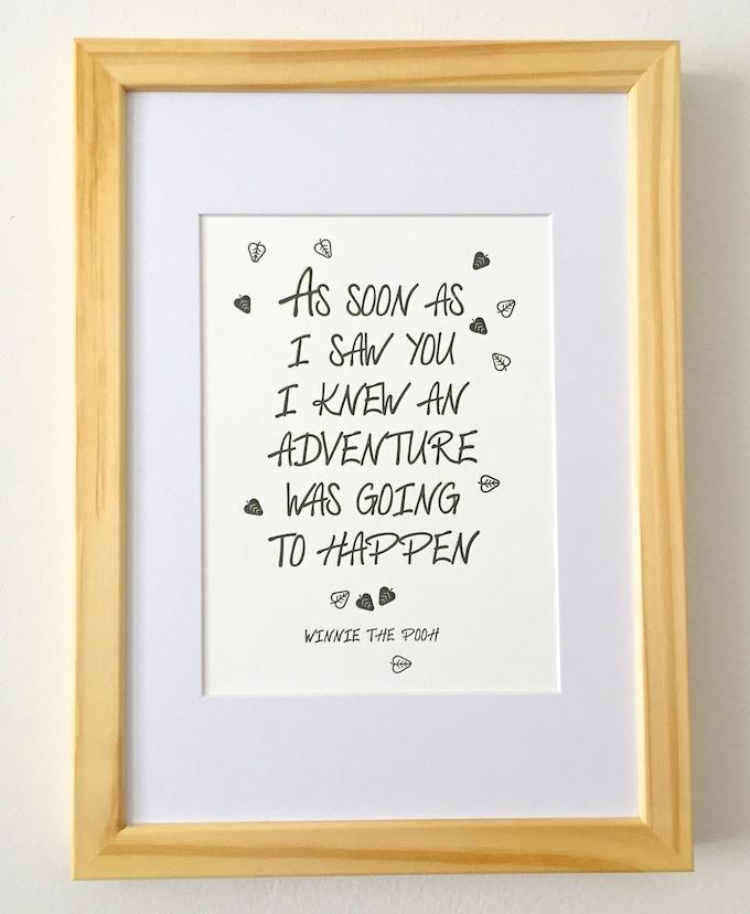 Winnie The Pooh Adventure Quote