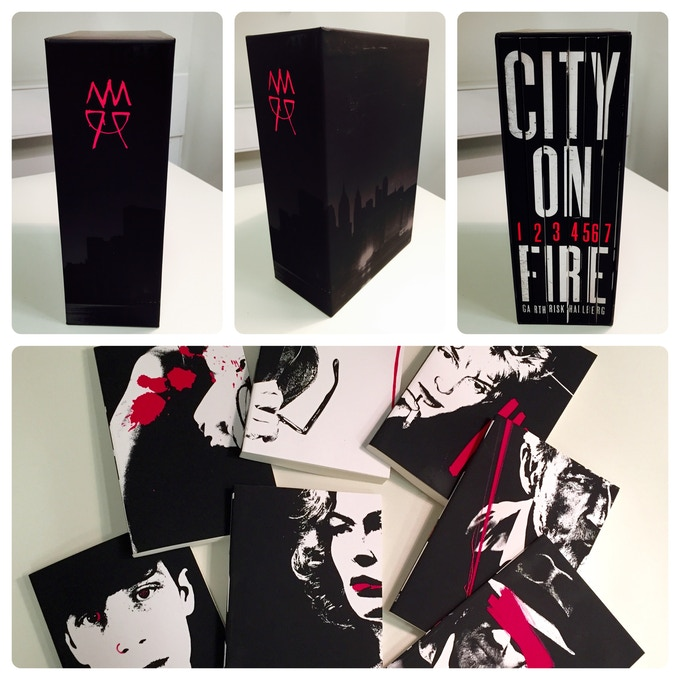 For £200 – A limited edition box-set proof of this years publishing sensation: the extraordinary 'City on Fire' by Garth Risk Hallberg