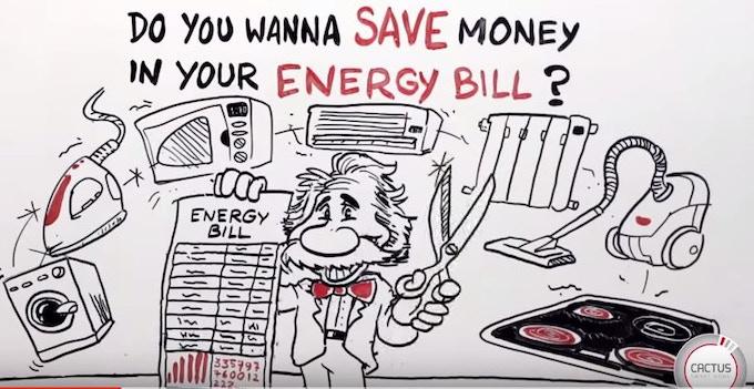 ¿Quieres ahorrar dinero en tu factura de la Luz? Con MyCACTUS es muy sencillo.