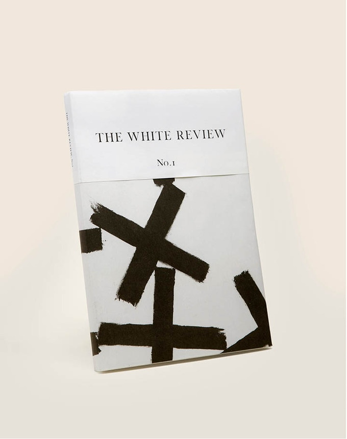 The White Review No. 1 - long ago sold out, but available to those of you who choose the complete set of White Reviews to this point, several of which are no longer available.