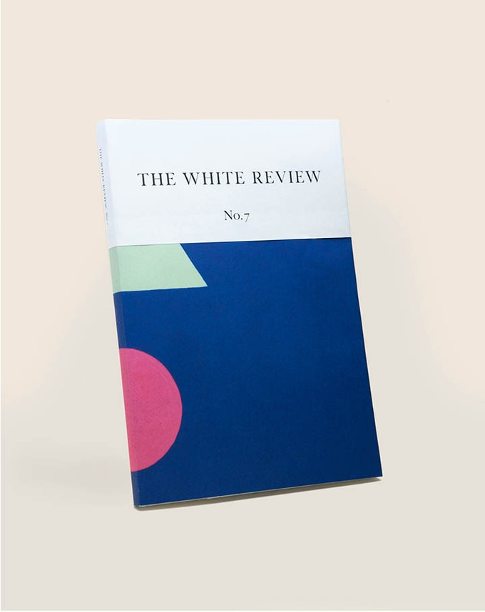 THE WHITE REVIEW NO. 7: interviews with Luc Tuymans, John Stezaker, Keston Sutherland; essays on the state of British fiction by Jennifer Hodgson and architecture and power by Lawrence Lek; fiction by Peter Stamm; and cover art by Mai-Thu Perret.