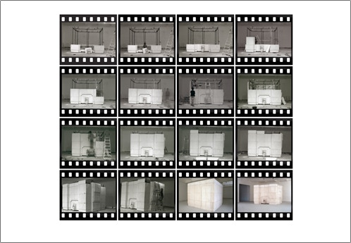 For £500 - Courtesy of London's Chisenhale Galley, a signed, numbered edition of Rachel Whiteread's photographic work 'Installation of Ghost, 1990 - 2012'. (Edition of 100 + 25 AP)