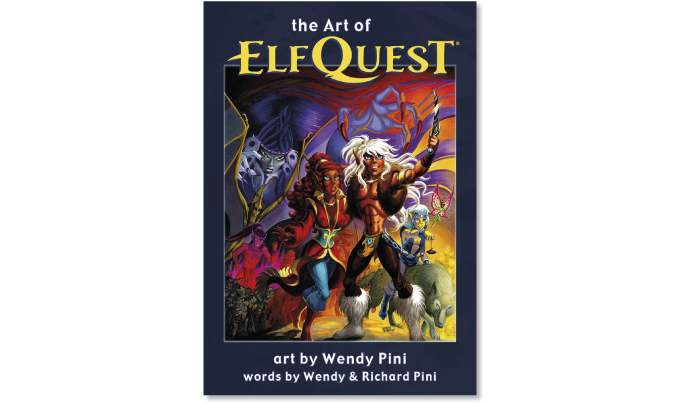 The Art of Elfquest trade edition cover