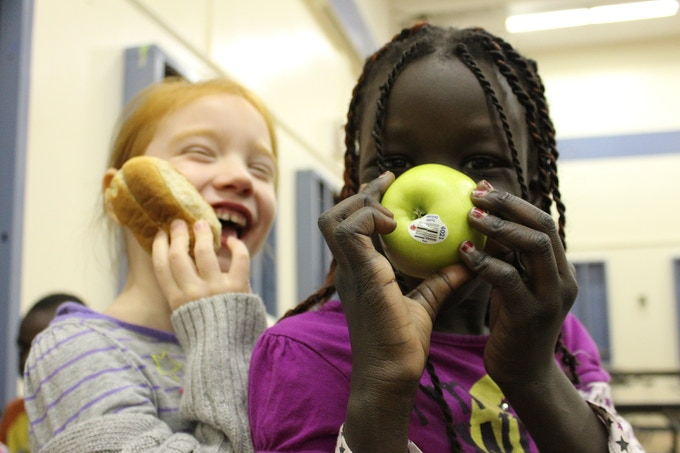 E4C School Nutrition program feeds thousands of kids every school day.