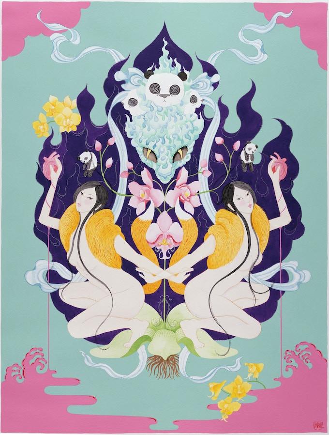 """""""The Women"""" print by Stella Lai"""