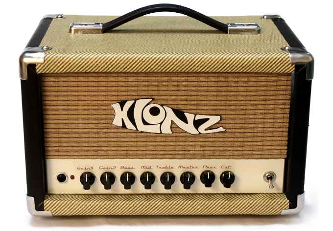 Single-channel Amplifier with Optional Tweed/Tolex cabinet
