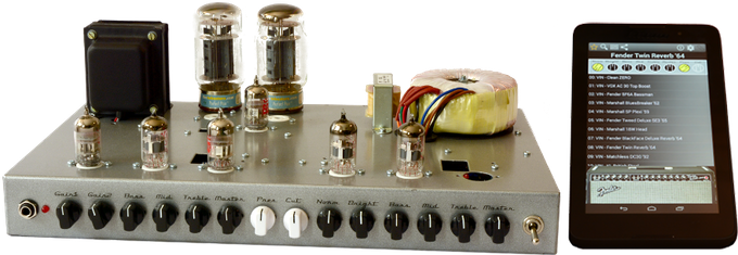 Dual-channel Amplifier with Modern & Vintage Preamps