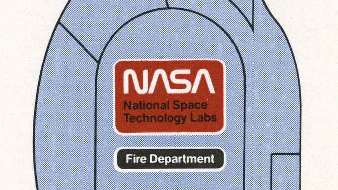 Detail of page 9.2, NASA Uniform Patches.