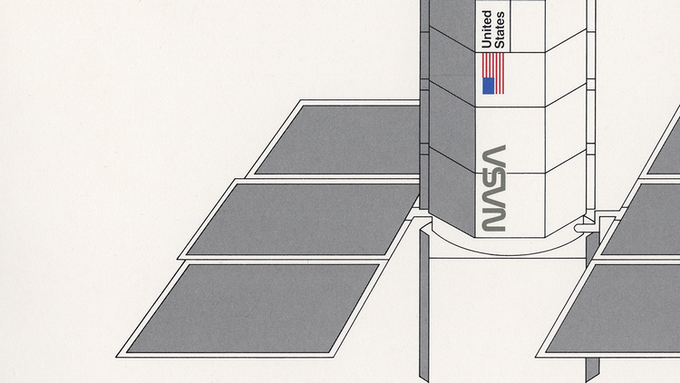 Detail of page 7.11, NASA Spacecraft Markings.