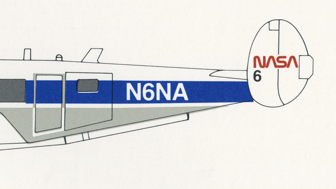 Detail of page 7.9, NASA Aircraft Markings.