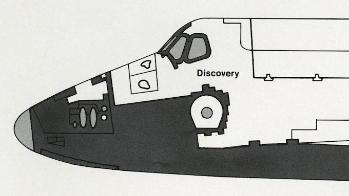 Detail of page 7.10, NASA Spacecraft Markings.