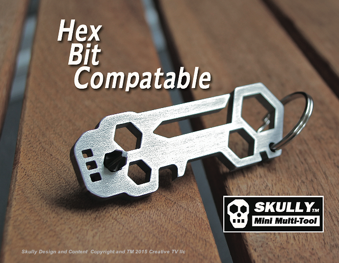 """Uses Any 1/4"""" hex tool"""